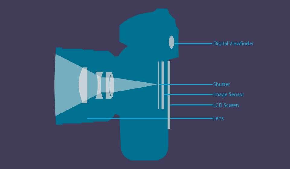 Базовые компоненты беззеркальной камеры.