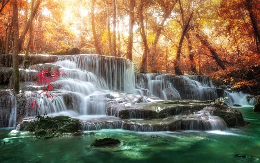Снимок водопада