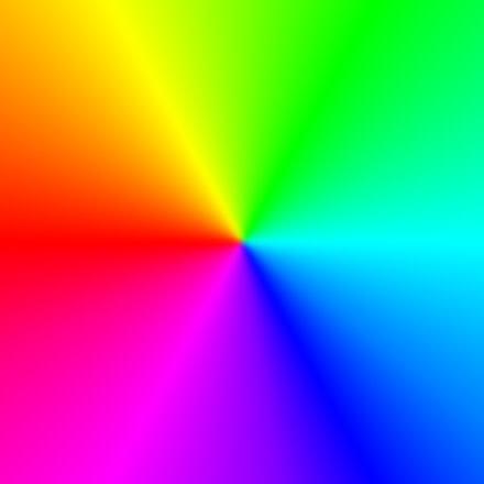 Существует три различных типа цветов.