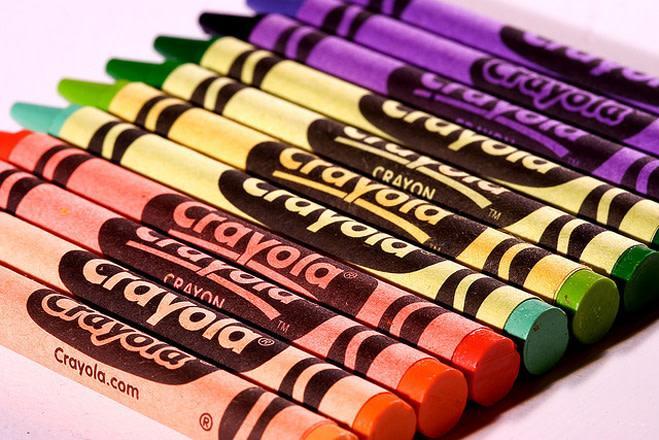 Вторичные цвета создаются путем сочетания двух основных цветов.