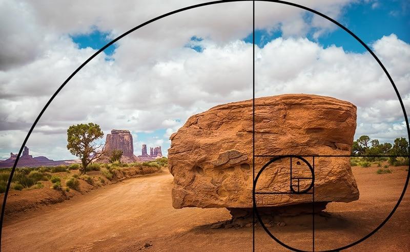 Фото сделанное согласно правила Золотой спирали