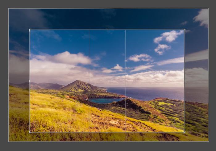 Обрезка изображения в графическом редакторе
