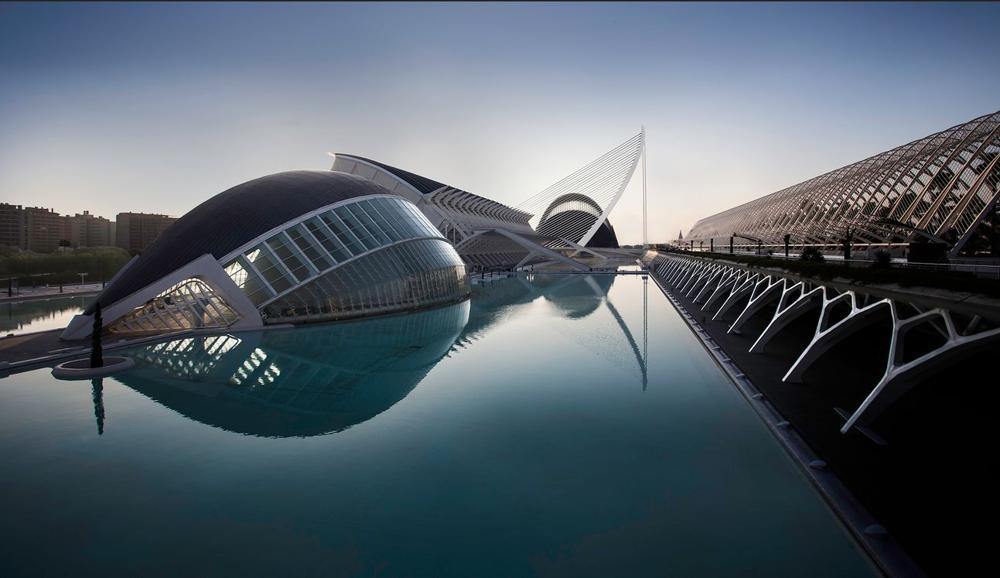 Город искусств и наук, Валенсия. Фото Шарон Тененбаум