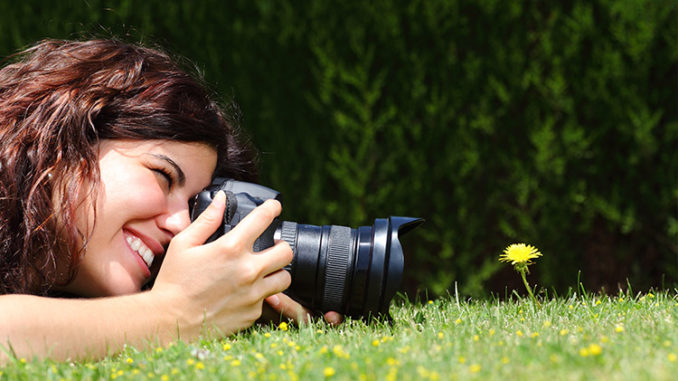 Съемка макрофотографии