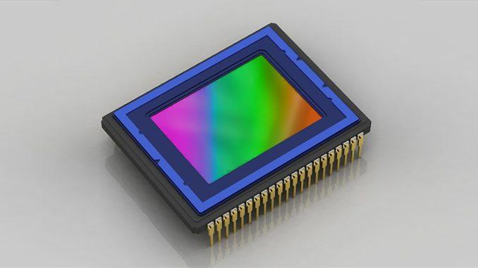 Микросхема сенсора фотоаппарата