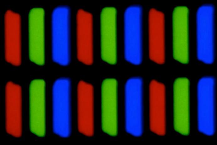 Источники RGB пикселей на экране