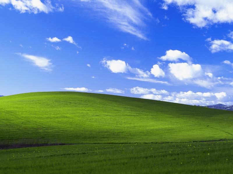 Фотография рабочего стола Windows XP