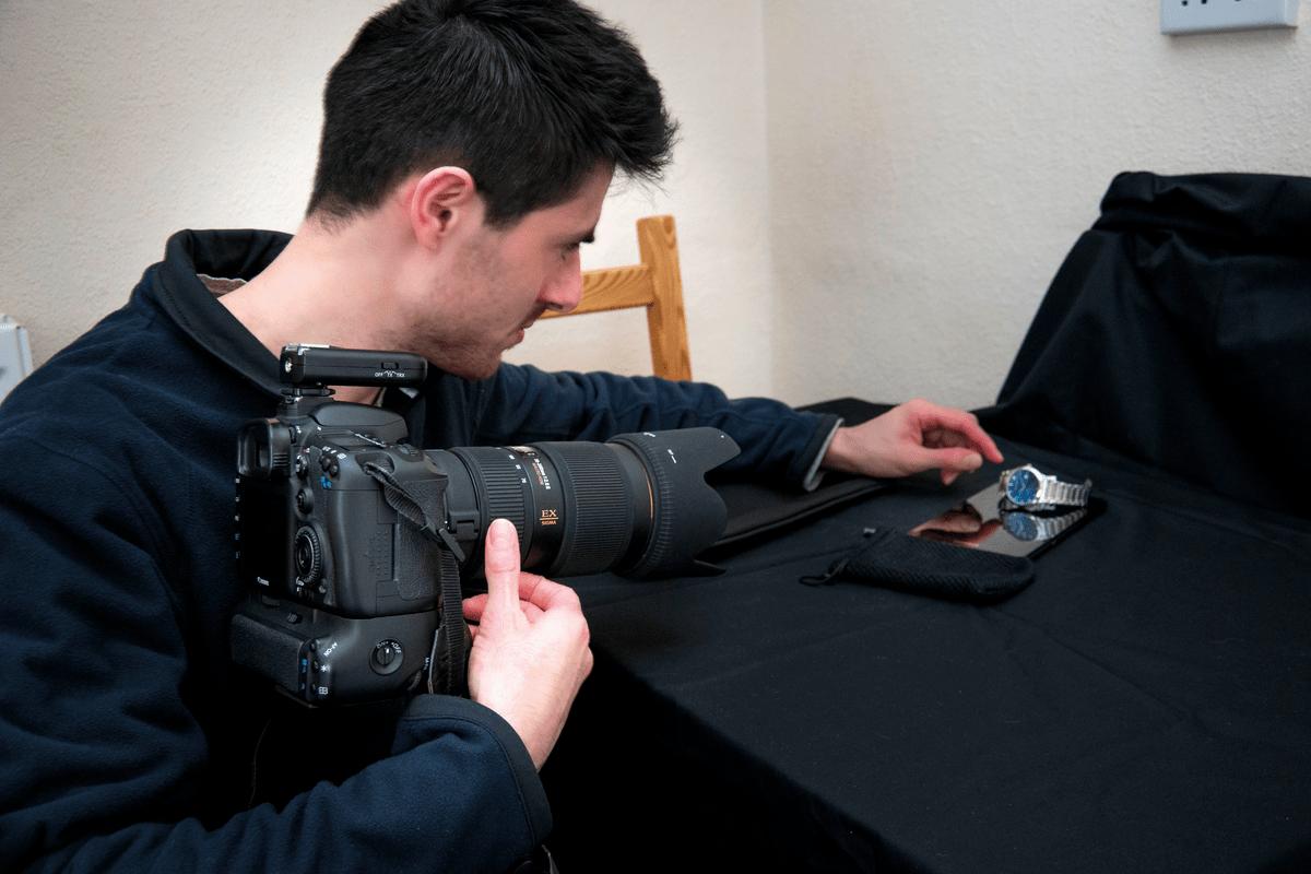 как создавать коммерческие фотографии дома