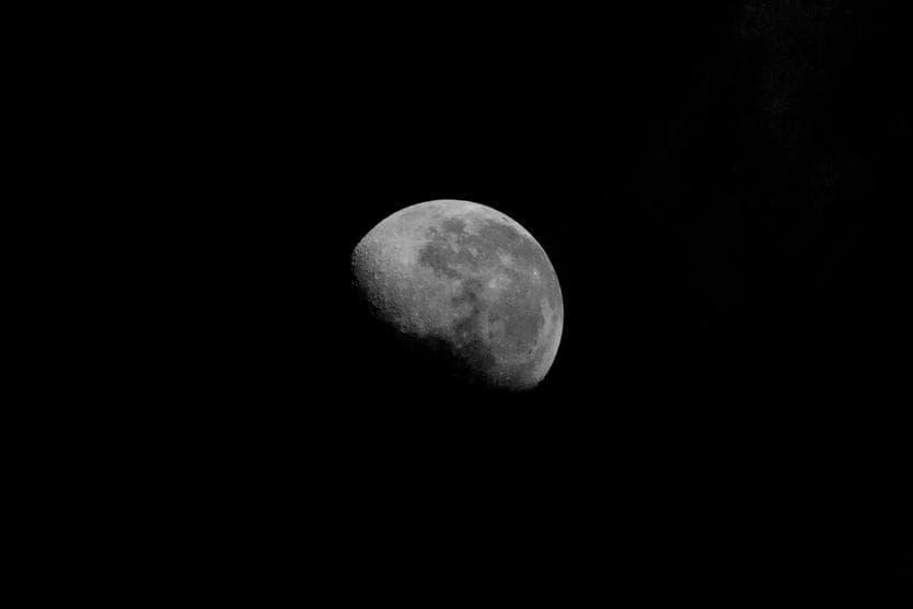 Фотография луны