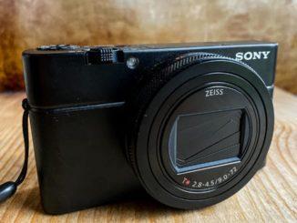 Камера Sony RX100 VII - общий вид
