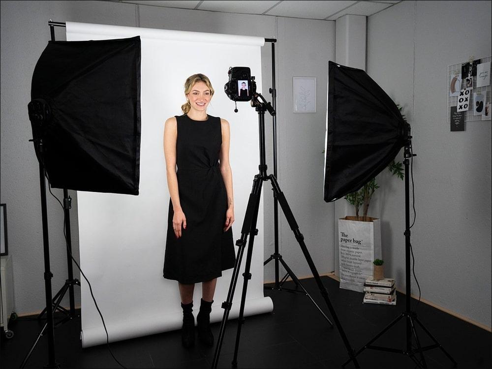 Съемка видео с помощью софтбоксов