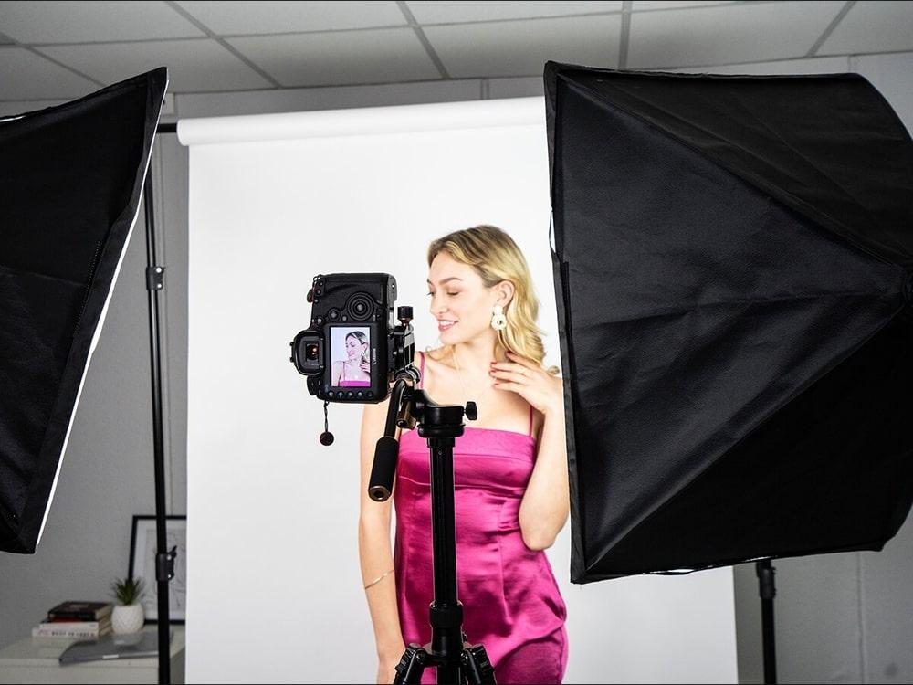 Съёмка бьюти снимков